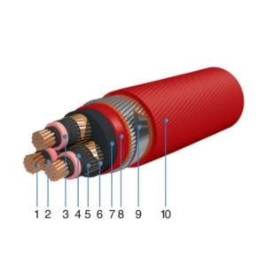 Кабель CREOLON R PCP бронированный стальными круглыми проволоками